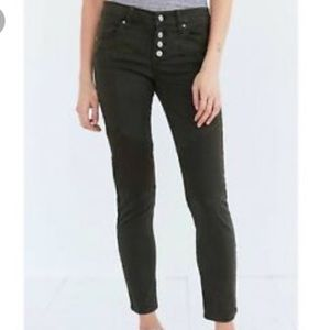 Bdg button fly Moto ankle jeans size 27